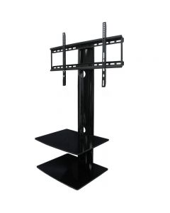 "TygerClaw LCD80028BLK TV Stand Table Top for 32-55"" TVs"