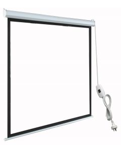 "TygerClaw 120"" Noiseless Motorized Projector Screen"