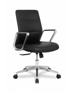 TygerClaw Mid Back Microfiber PU Leather Office Chair