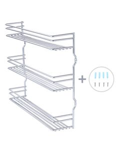 TygerClaw TYKCWB210010 Sturdy and practical spice rack for any kitchen
