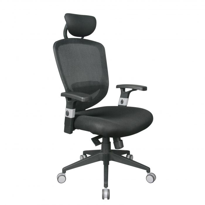tygerclaw ergonomic high back mesh office chair with headrest