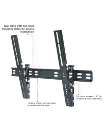 "TygerClaw 37"" – 63"" Ultra Slim Tilt Wall Mount"