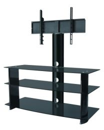 "TygerClaw 3-Layers TV Stand with 37"" - 60"" Mounting Bracket"