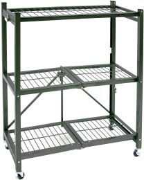 "TygerClaw ""LCD86126FR"" 3 Shelf Foldable Storage Unit"