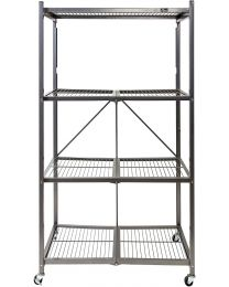 "TygerClaw ""LCD86127FR"" 4 Shelf Foldable Storage Unit"