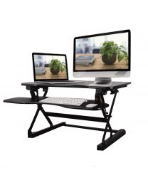 TygerClaw TYDS10020BLK height-adjustable standing Desk