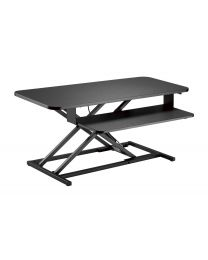 "TygerClaw ""TYDS140048"" Gas Spring Sit-Stand Desk"