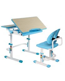 "TygerClaw ""TYDS140051"" Adjustable Height Childrens Desk with Storage"