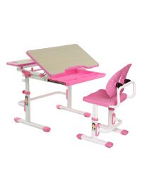 "TygerClaw ""TYDS140052"" Adjustable Height Childrens Desk with Storage"