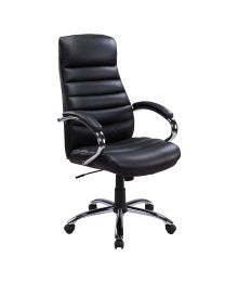 TygerClaw Executive High Back Bonded Leather Office Chair