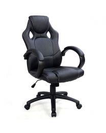 "TygerClaw ""TYFC210033"" Executive High Back Gaming Style Chair (Black)"