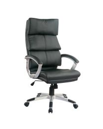 TygerClaw Executive High Back PU Leather Office Chair (Refurbished Item)