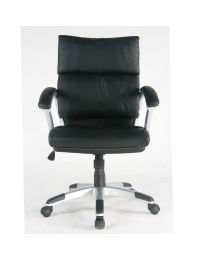 TygerClaw Mid Back PU Leather Office Chair